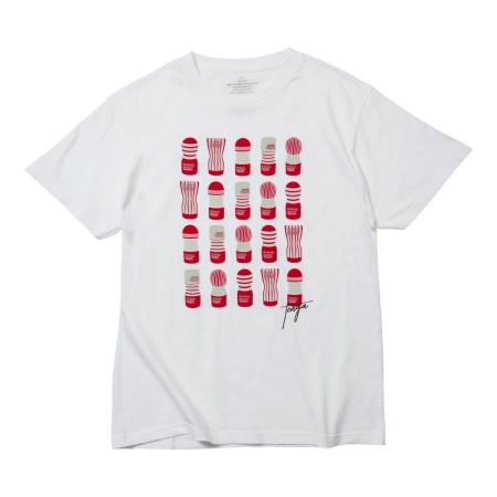 TENGA 20 CUPS Tシャツ 白