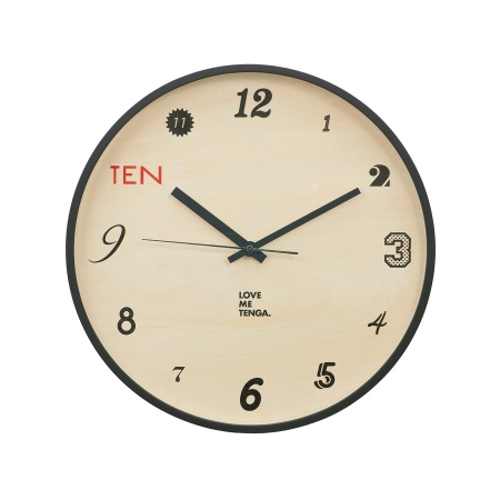 TENGA WALL CLOCK【TEN o'clock】