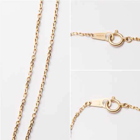 TENGA 18金 Yellow Gold Necklace 50cm