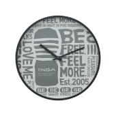 TENGA WALL CLOCK【Typography】