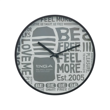 TENGA WALL CLOCK【Typography】