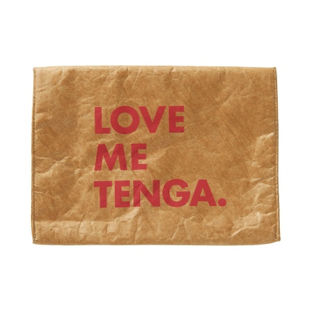 TENGA PAPER CLUTCH BAG [LOVE ME TENGA] Craft