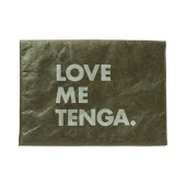 TENGA PAPER CLUTCH BAG [LOVE ME TENGA] Moss-Green
