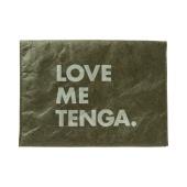 TENGA PAPER CLUTCH BAG [LOVE ME TENGA] Moss-Green