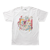 BROSMIND【BE FREE FEEL MORE】Tee WHITE