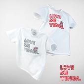 BROSMIND 【LOVE ME TENGA WITH DOKUMI】 Tee WHITE×RED