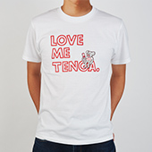 BROSMIND 【LOVE ME TENGA WITH DOKUMI】 Tee WHITE×RED