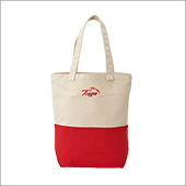 TENGA ORIGINAL TOTE BAG WHITE×RED