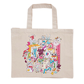 BROSMIND【BE FREE FEEL MORE】Canvas Tote bag