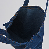 BROSMIND【DOKUMI】Denim Tote bag WASHED BLUE
