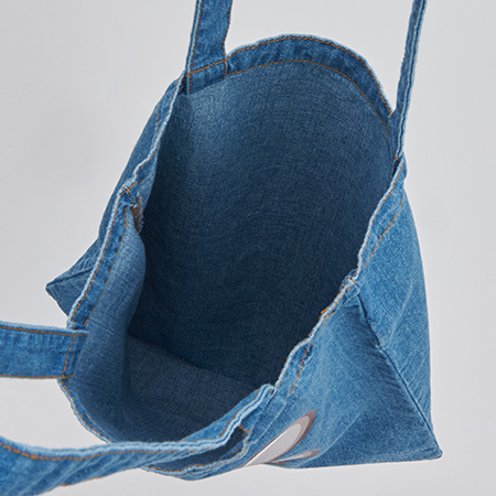 BROSMIND【DOKUMI】Denim Tote bag VINTAGE BLUE