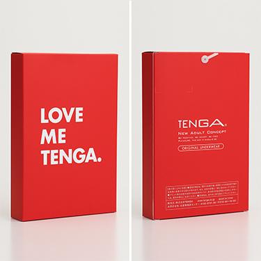 LOVE ME TENGA UNDERWEAR  レッド