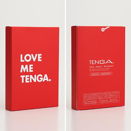 LOVE ME TENGA UNDERWEAR  ブラック